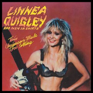 Linnea Quigley This Chainsaw's Made For Cutting Vinyl