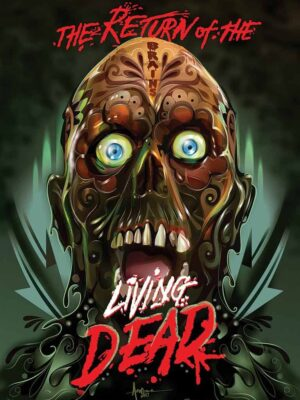 """Return of the Living Dead"" Limited Edition, Cover by Orlando Arocena (Widescreen) DVD"
