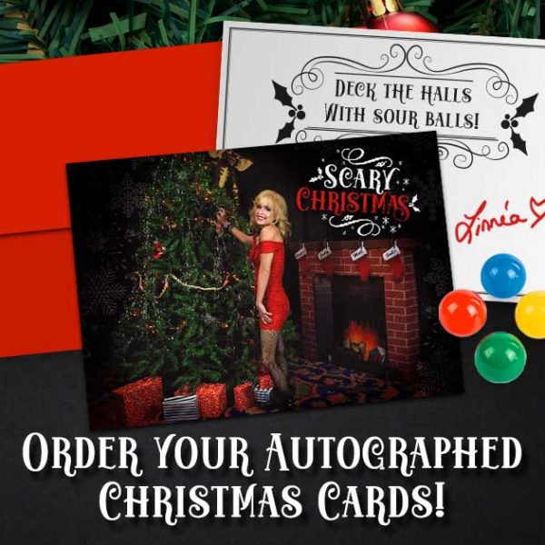Linnea Quigley Christmas Card