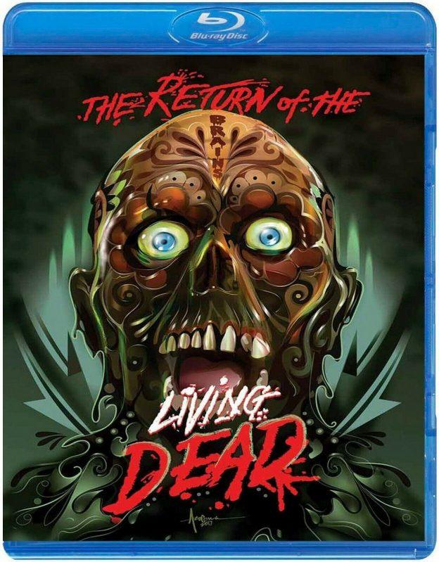Return of the Living Dead Tarman Blu ray